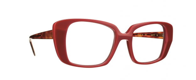 Caroline Abram OPHELIE  - RED / TAUPE / TORTOISE ACETATE WITH...