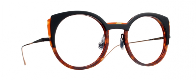 Caroline Abram DOLCE - Small and rounded, crafted in acetate...