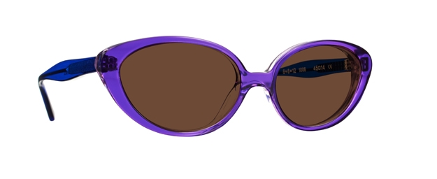 Caroline Abram 12 SUN - VIOLET / LIGHT VIOLET / BLUE ACETATE /...